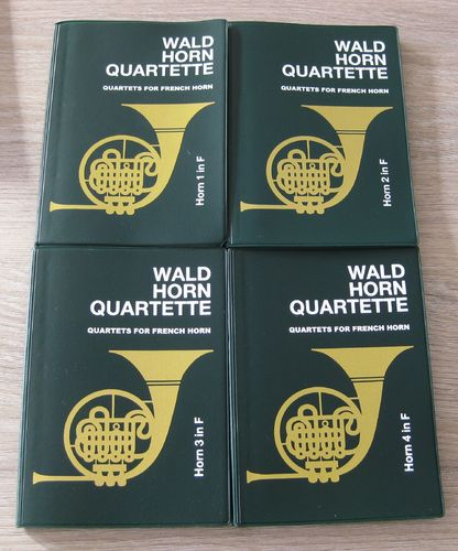 Quartets for french horn (horn1-4) / Liebert